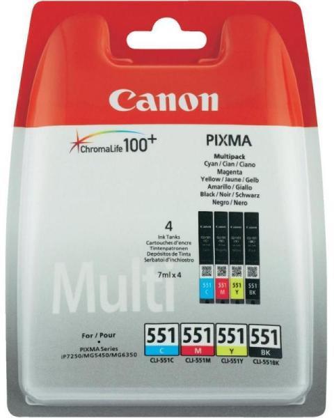 Canon CLI-551 Bk,C,M,Y multipack eredeti