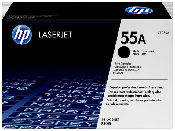 HP CE255A (55A) fekete eredeti (HP CE255A (55A) fekete eredeti)