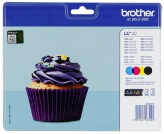 Brother LC123  multipack eredeti